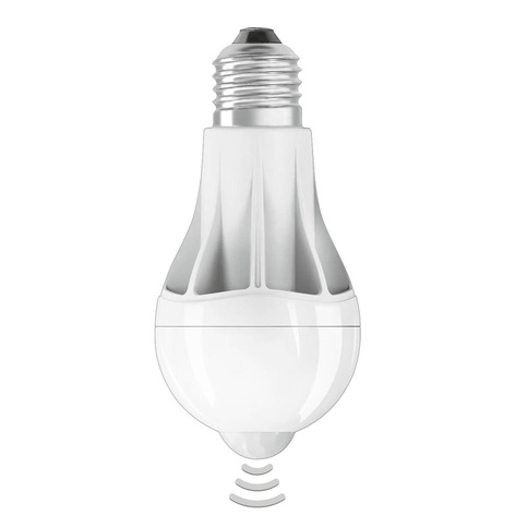 Lampadina LED E27 11W 2.700K sensore luce diurna