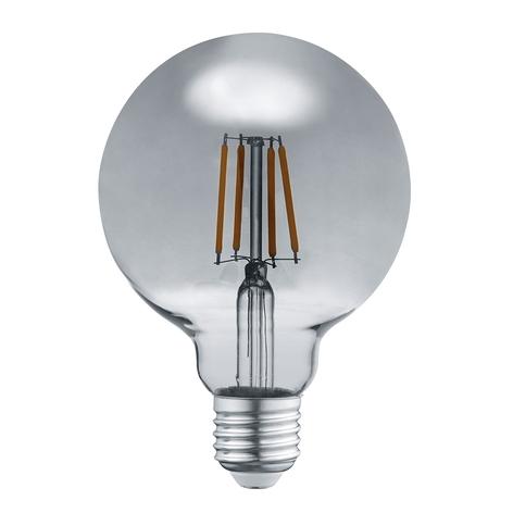 LED žárovka E27 6W 3.000K kouř