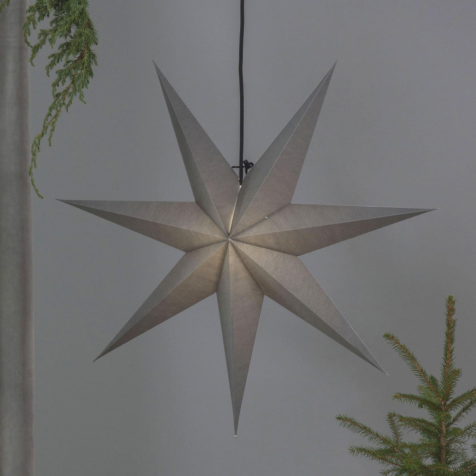 Étoile en papier Ozen sept branches 70cm