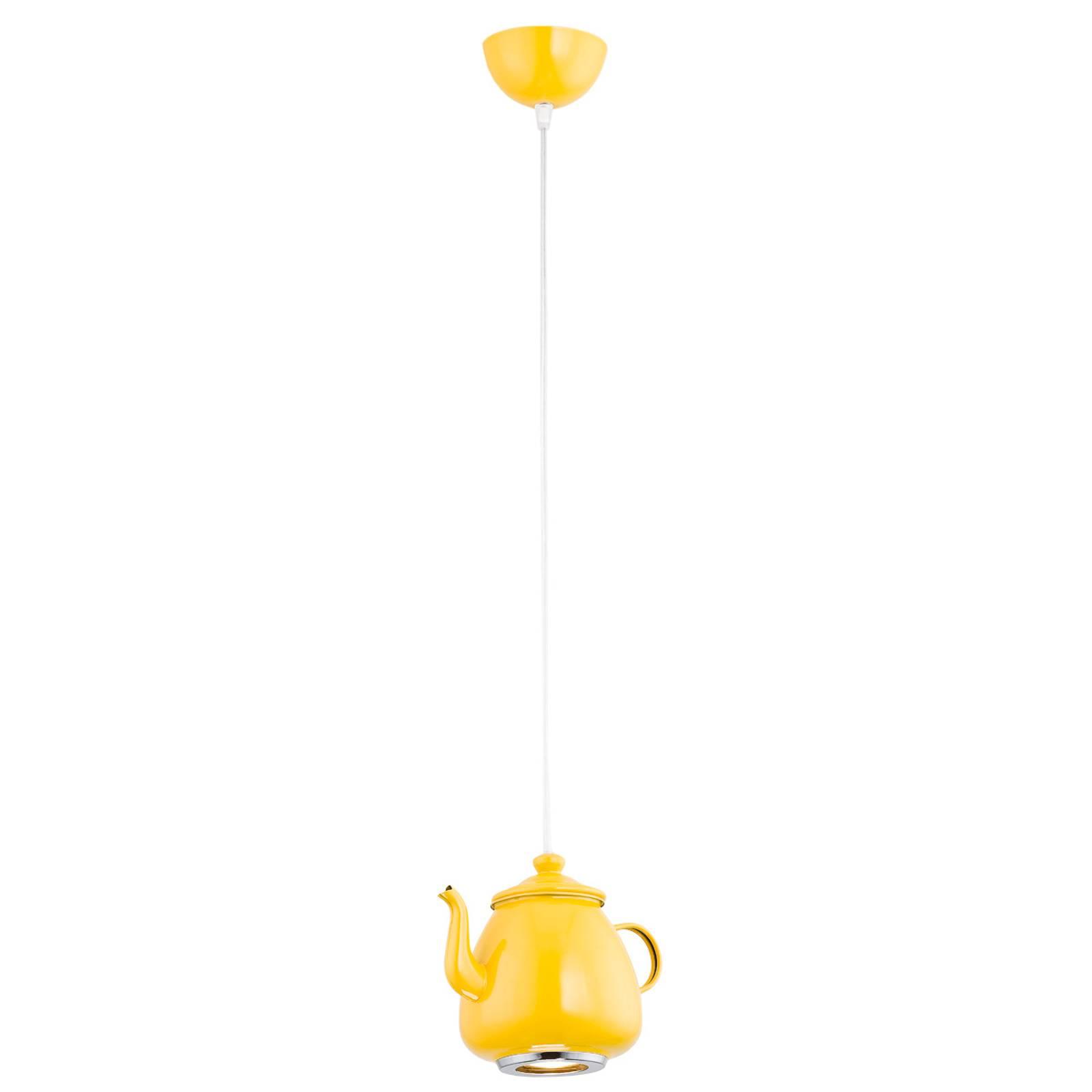 Hängeleuchte Jasse Kaffeekannenform 1fl gelb