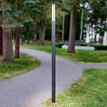 LED sloupové svítidlo Sidny, tenké, 220cm
