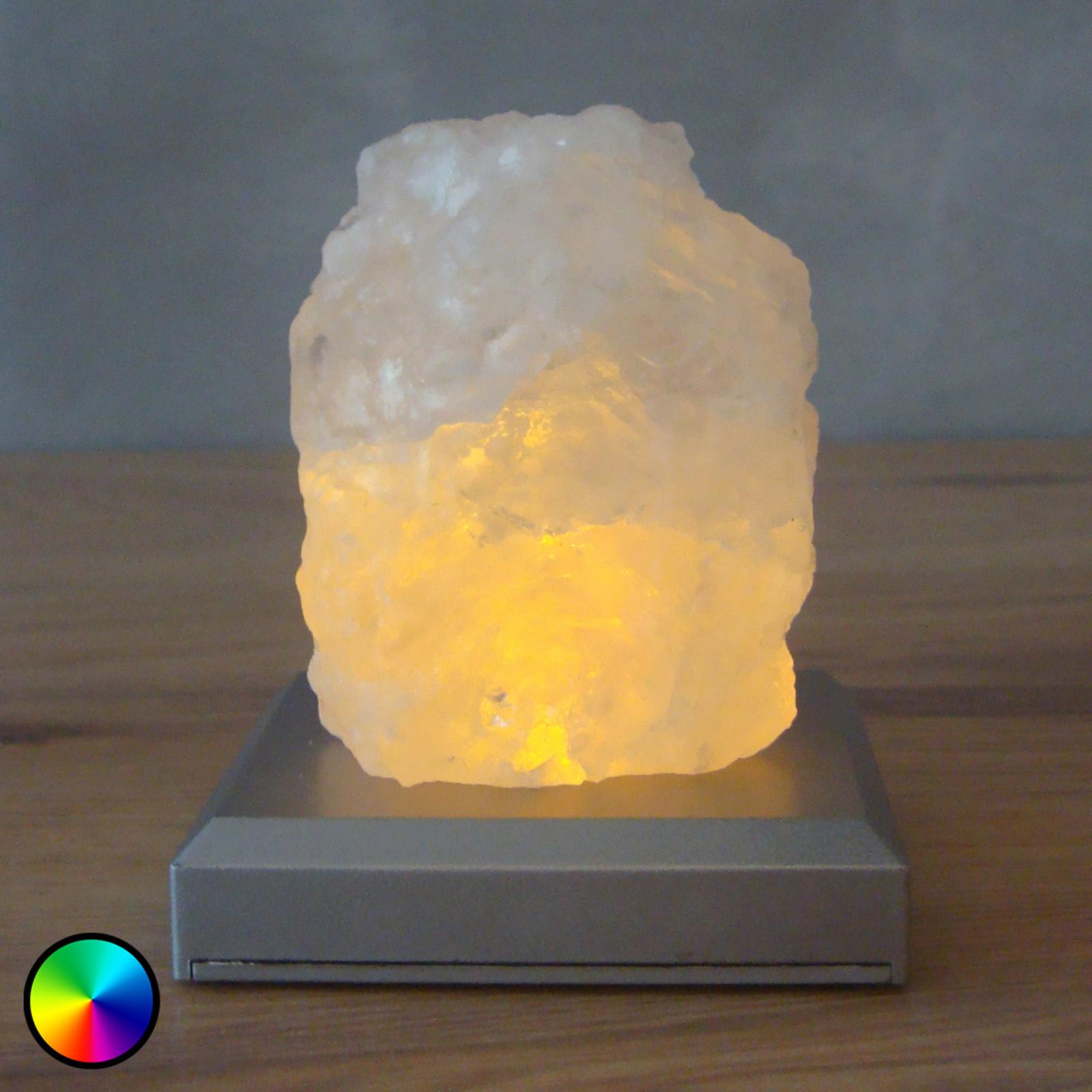 Salzberg batteriebetriebene LED-Tischleuchte