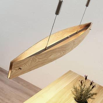 Lucande Petyr LED-hengelampe i treutseende