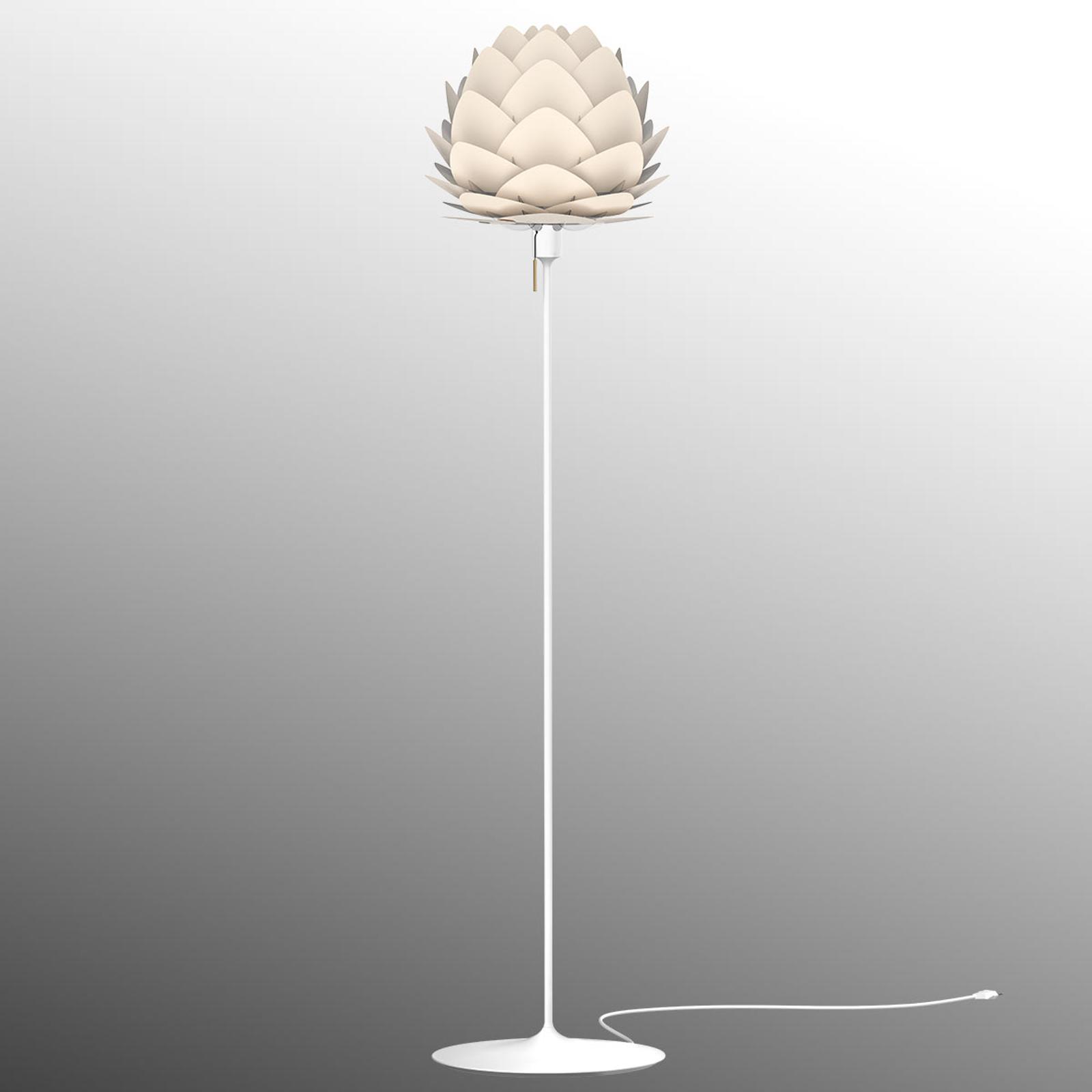 UMAGE Aluvia mini lampa stojąca, macica perłowa