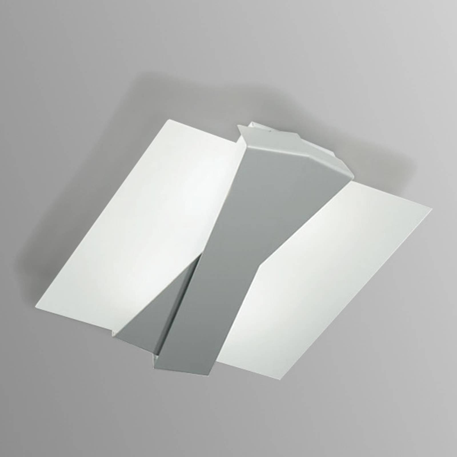 Deckenleuchte Zig Zag aluminium
