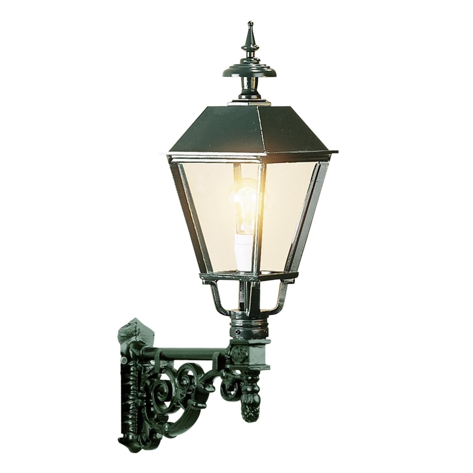 Smaakvolle buitenwandlamp M43, groen