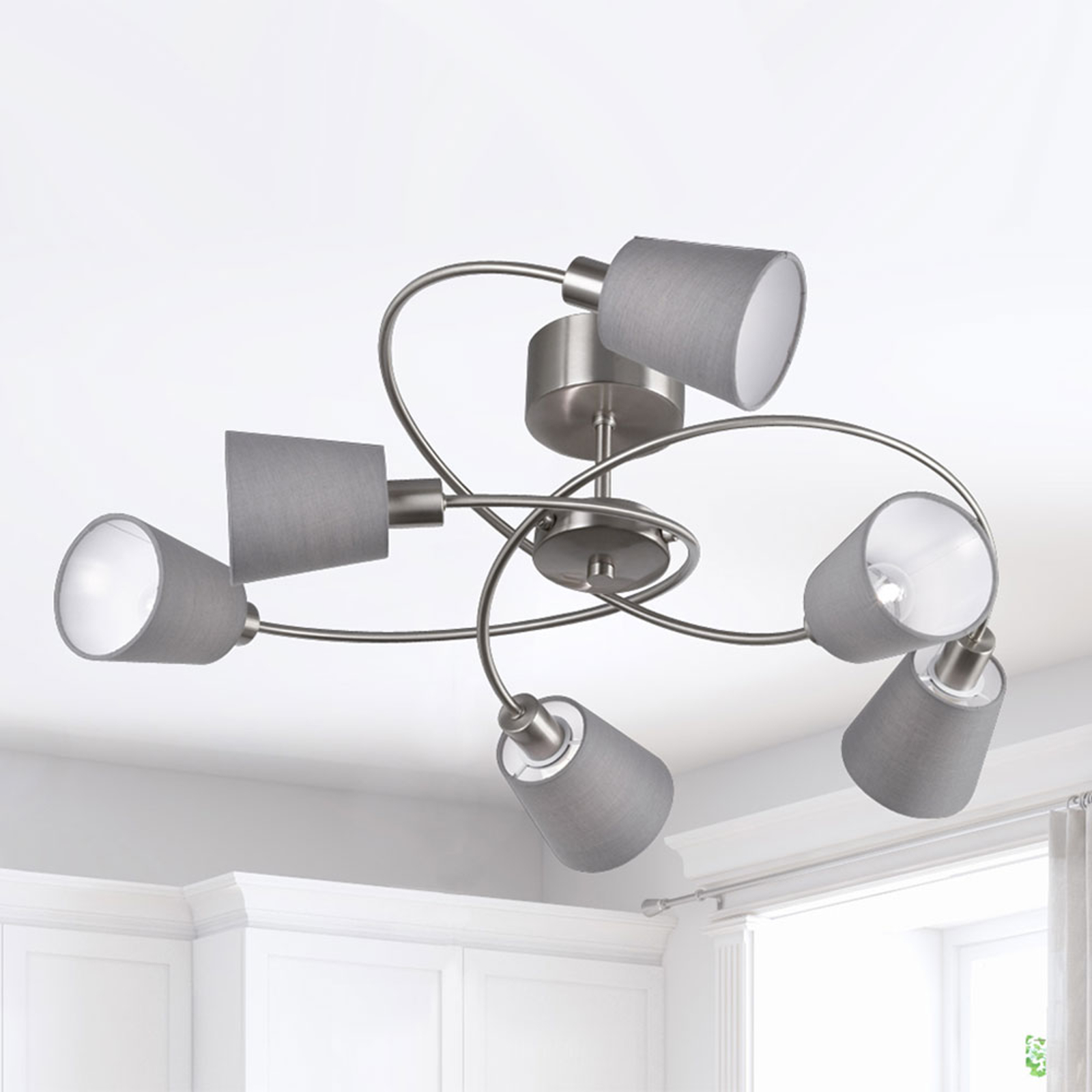 Taklampe Note 6 lys