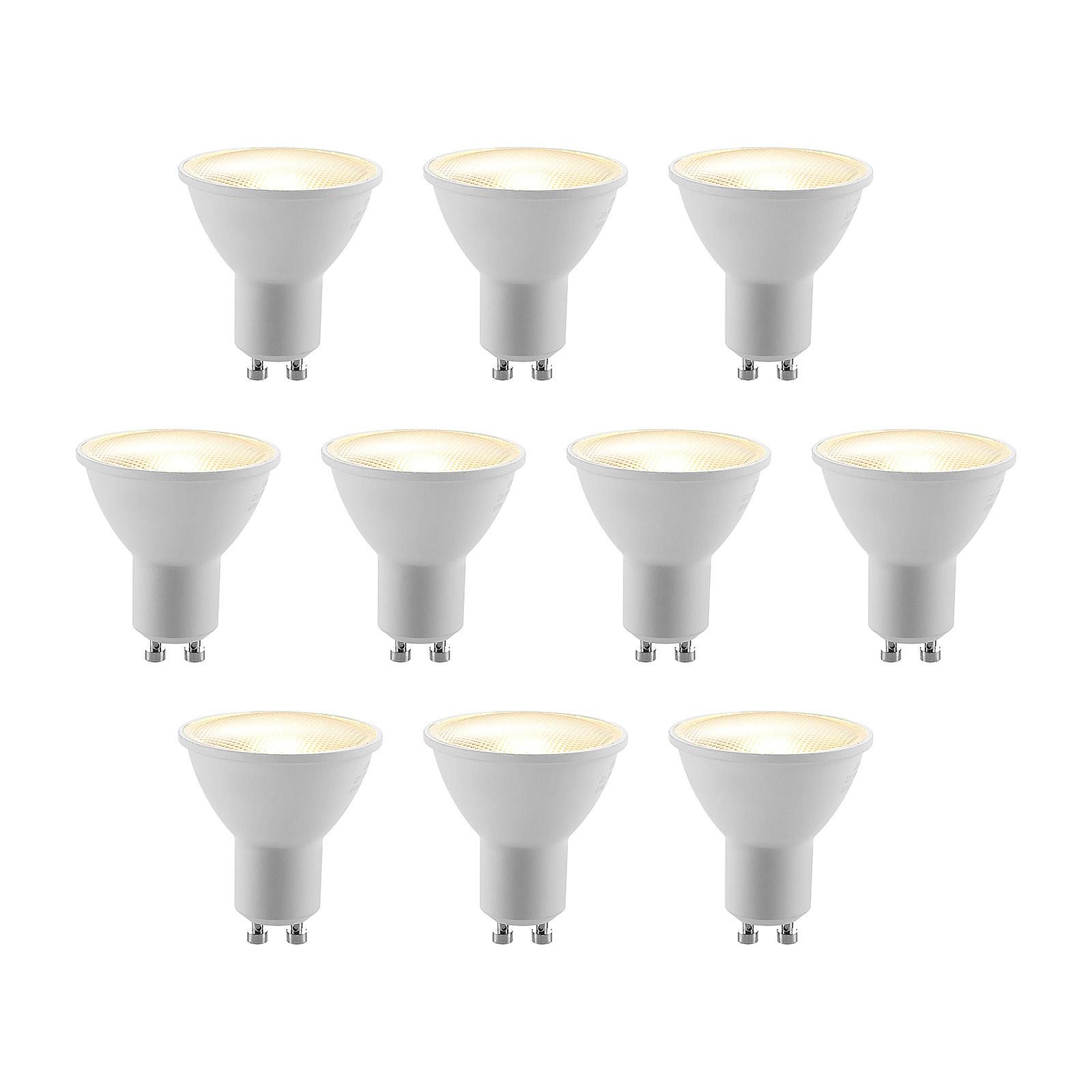 ELC LED-Reflektor GU10 5W 10er-Pack 2.700K 120°