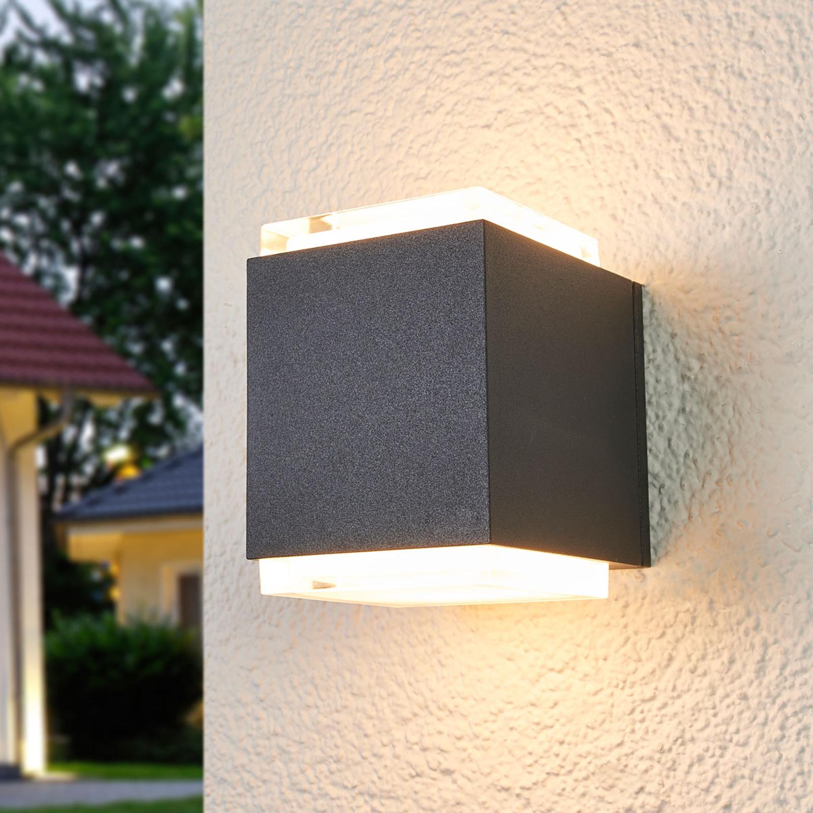 BEGA 33505K3 Außenwandlampe grafit 3.000K up/down
