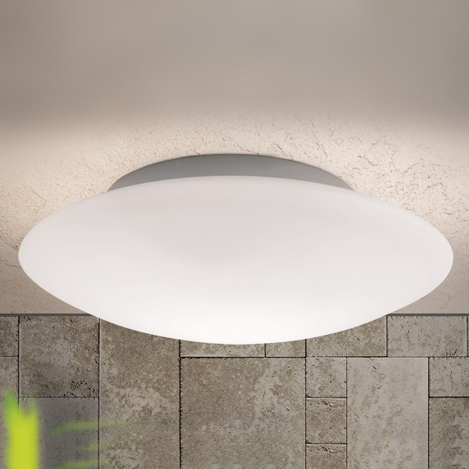 Szklana lampa sufitowa OPAL, 45 cm