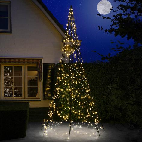 Fairybell® joulukuusi ja masto, 4m