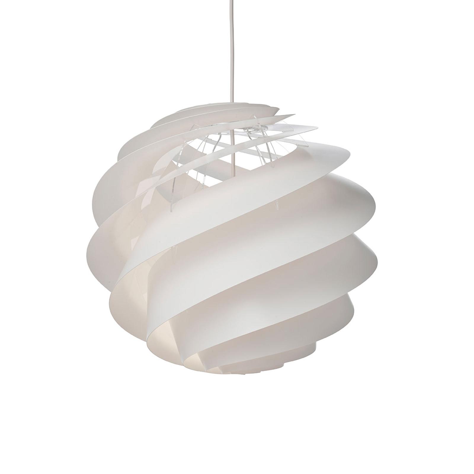 LE KLINT Swirl 3 Medium - hanglamp in wit