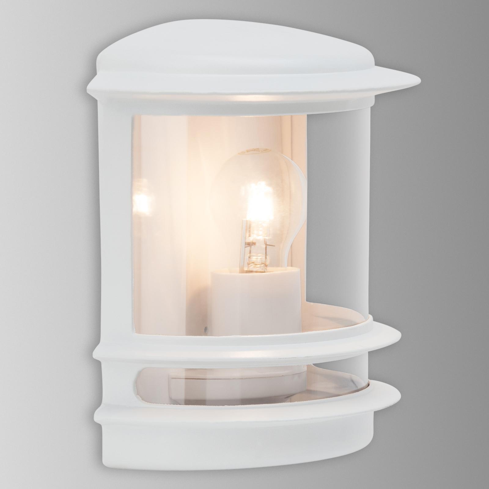 Elegant designet udendørsvæglampe Hollywood hvid