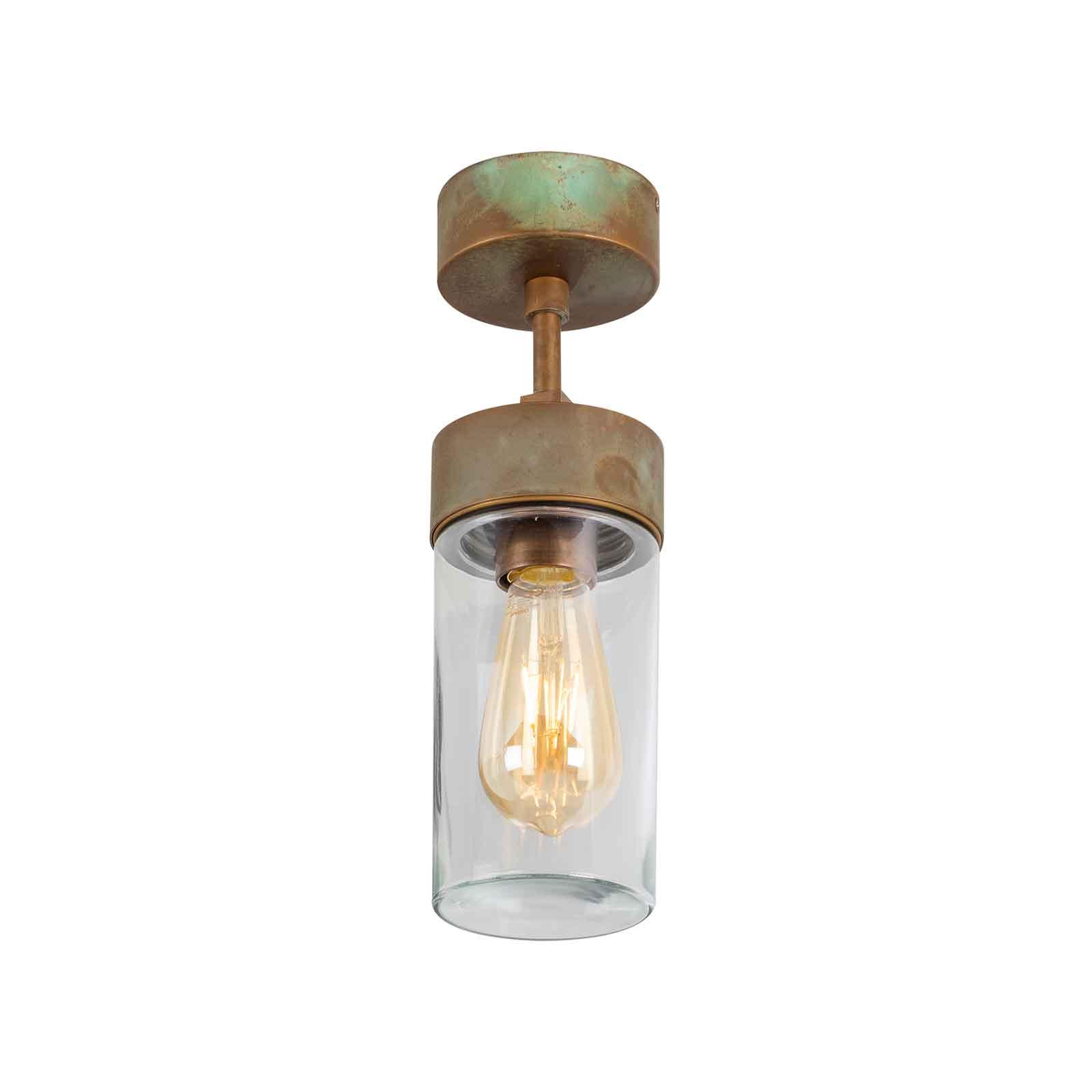 Lampa sufitowa Silindar 3357 antyk przezroczysta