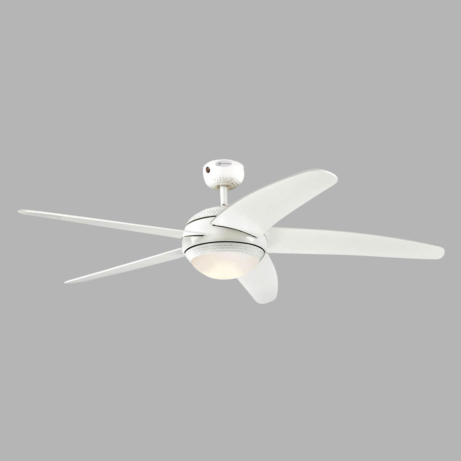 Westinghouse Bendan LED-Ventilator Flügel weiß