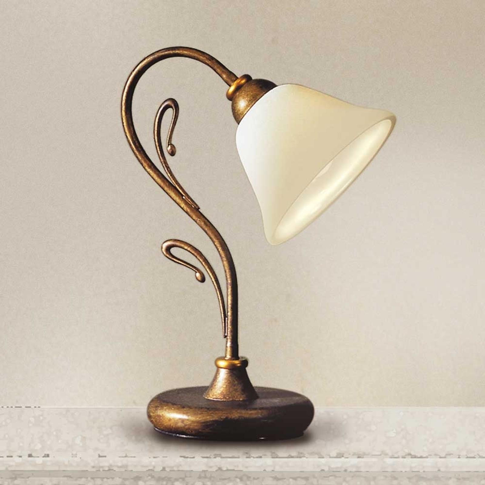 Raffinata lampada da tavolo Antonio