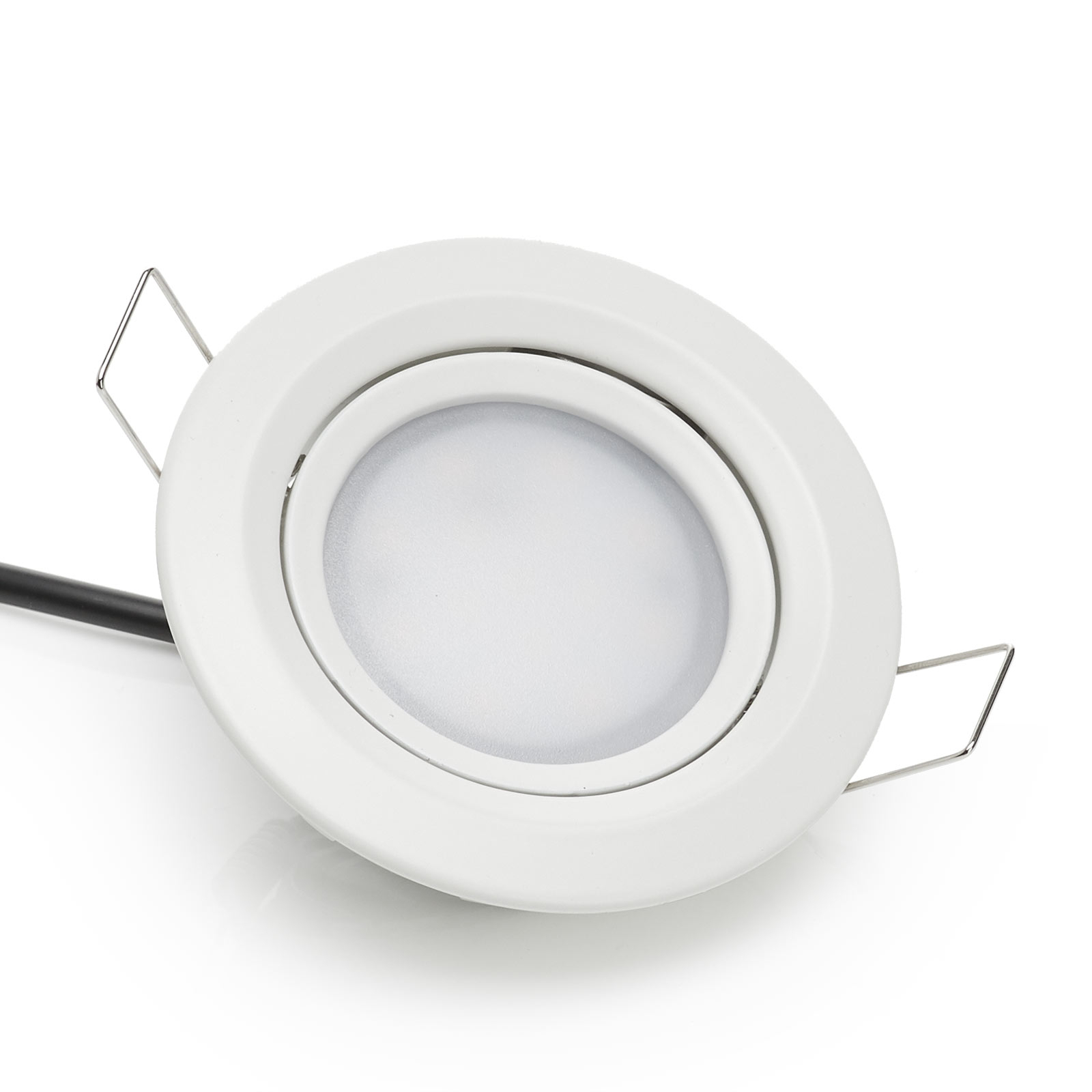 Set van 3 Coin Slim led inbouwspots, IP44
