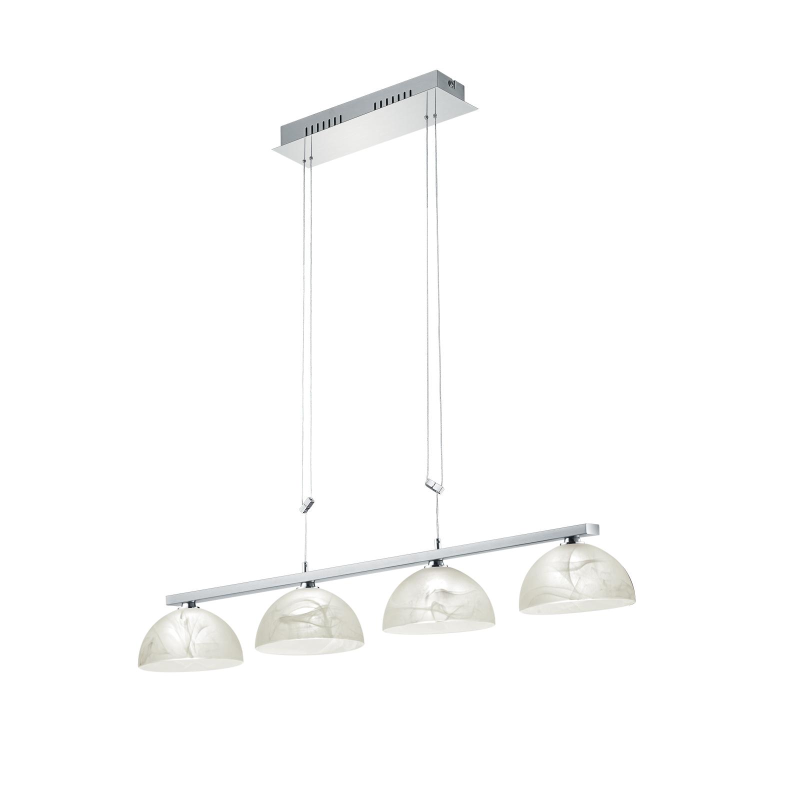 B-Leuchten Ebro LED-Hängeleuchte, höhenverstellbar