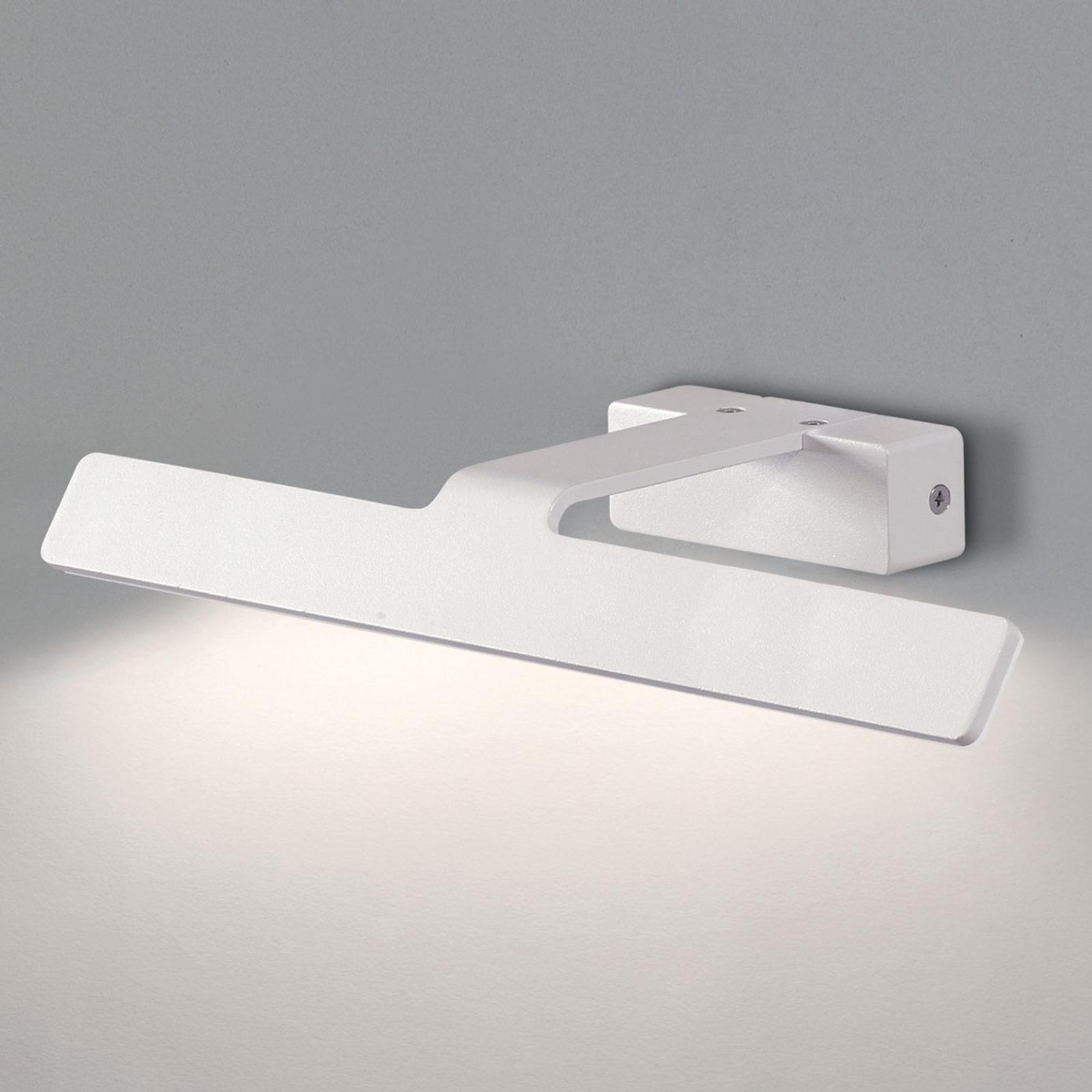 Vit LED-tavelbelysning Neus - 36 cm bred