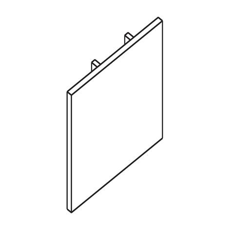 Ivela Endkappe für 3-Phasen-Schiene LKM quadro