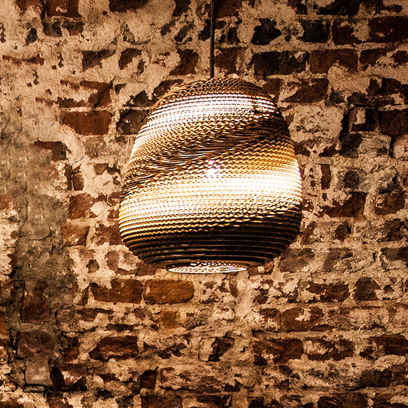 SEGULA Binky 290 lampa wisząca kartonowy klosz