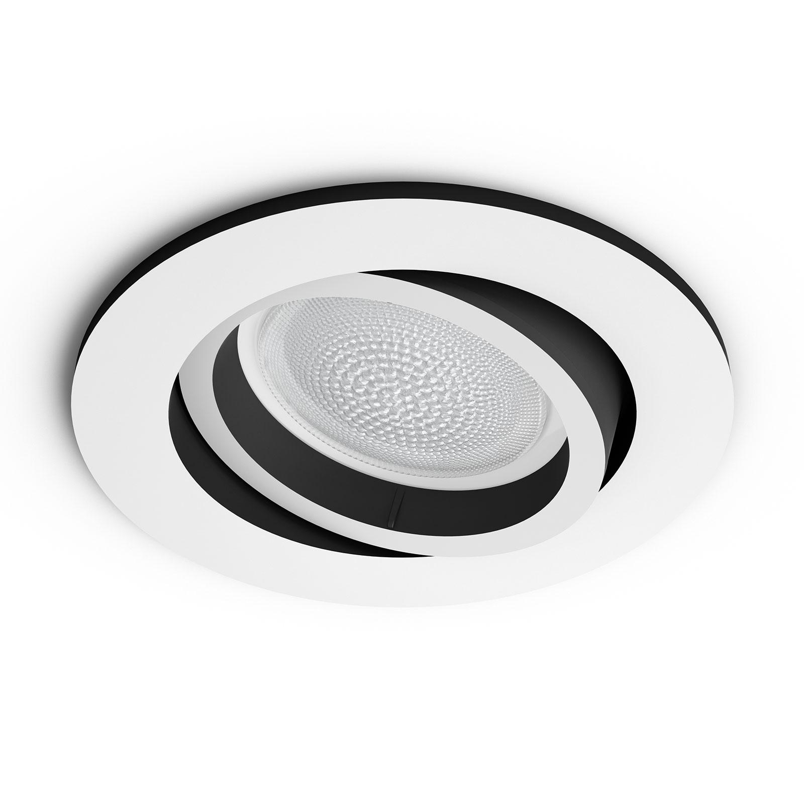 Philips Hue Centura LED-Einbauspot rund, weiß