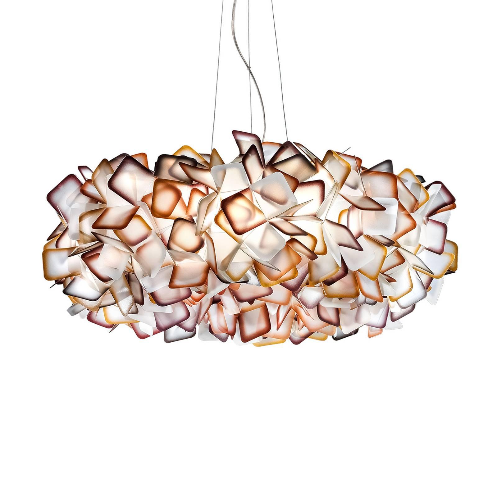 Slamp Clizia hanglamp, Ø 78 cm, oranje