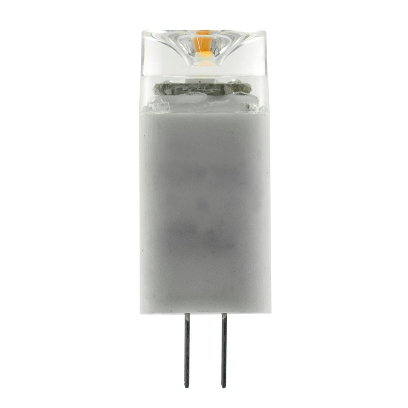 SEGULA LED-Stiftsockellampe G4 1,6W 2.700K