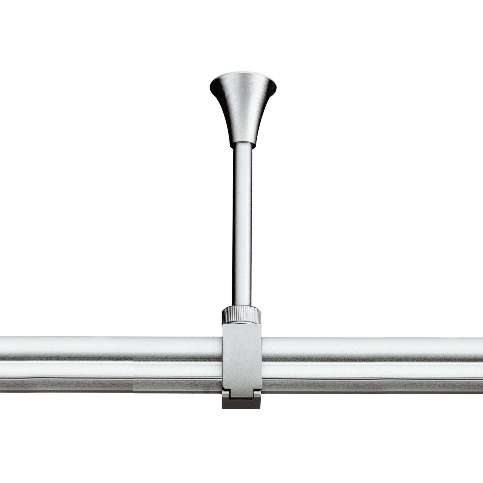 SLV EASYTEC II suspension grise argentée 18-26cm
