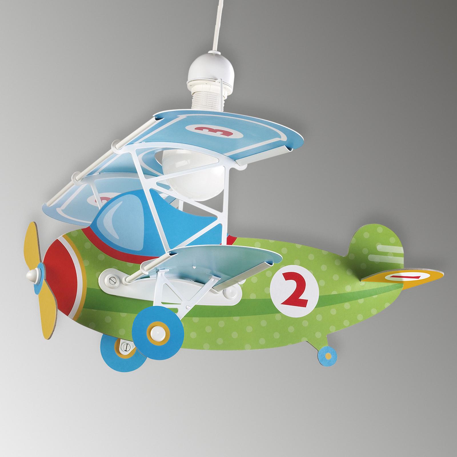 Lampa wisząca Baby Plane w kształcie samolotu
