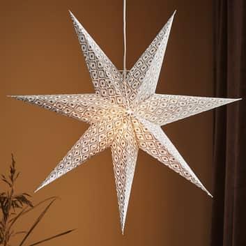Dekorační hvězda Baroque k zavěšení
