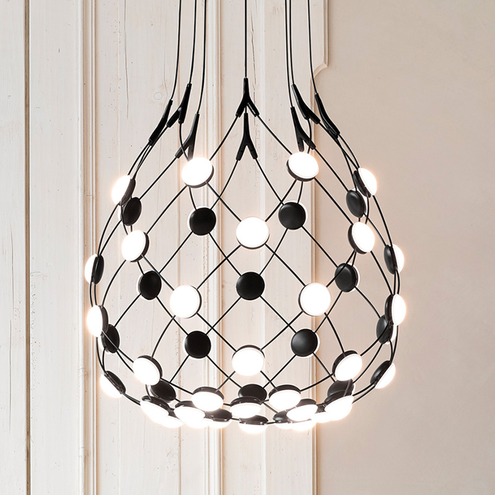 Luceplan Mesh lampa wisząca 55cm