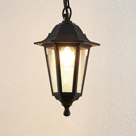 Venkovní závěsné svítidlo Nane ve tvaru lucerny