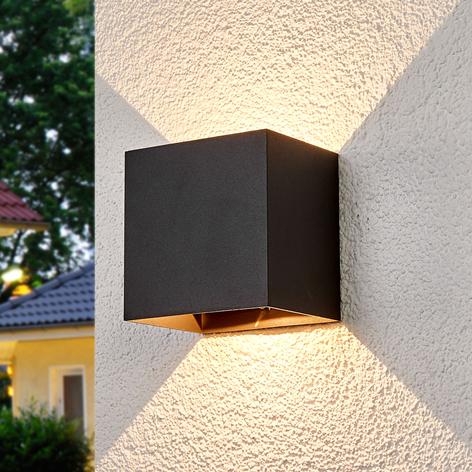 Evie - udendørsvæglampe med LED'er