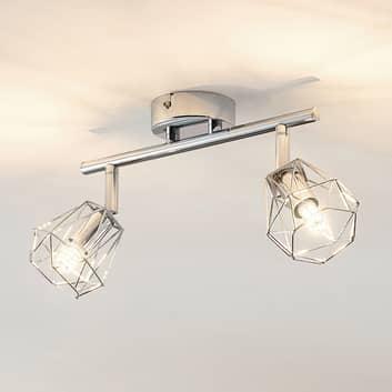 Lindby Giada faretto LED a due luci