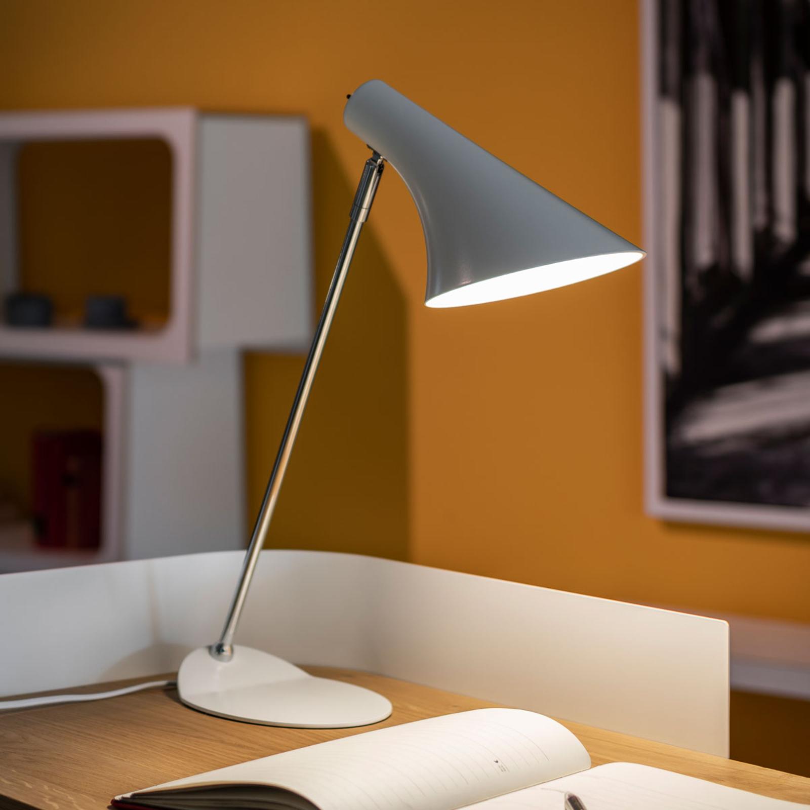 Lampe de bureau tendance LIAM blanche