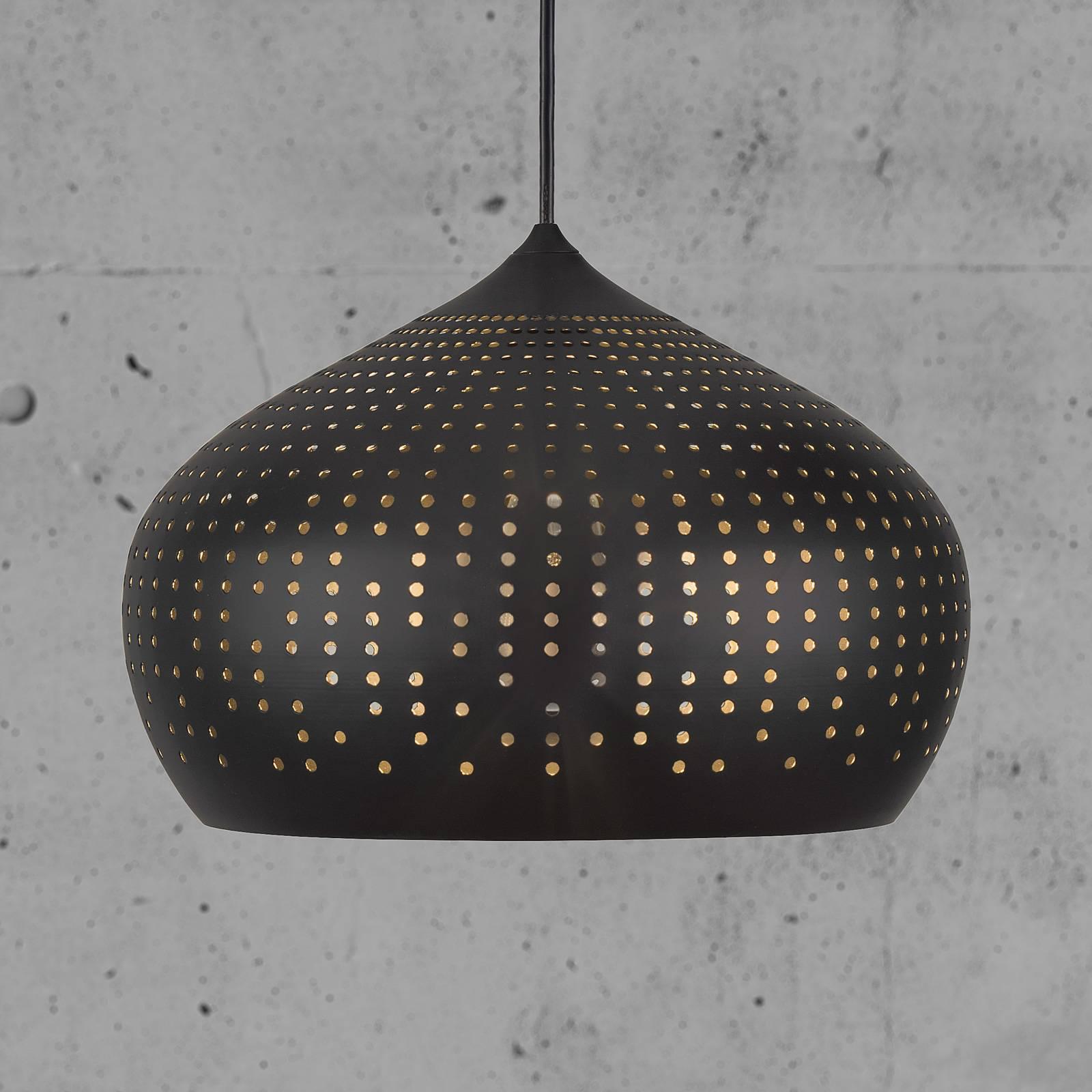 Houston hanglamp met geperforeerde kap, 30 cm