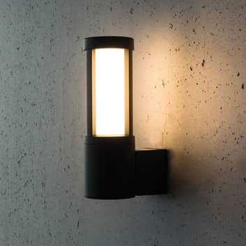 Utendørs LED-vegglampe Palma, antrasitt