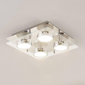 Lindby Gabryl LED plafondlamp, 4-lamps