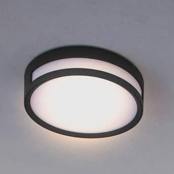 Rola udendørs loftlampe med LED, mat sort