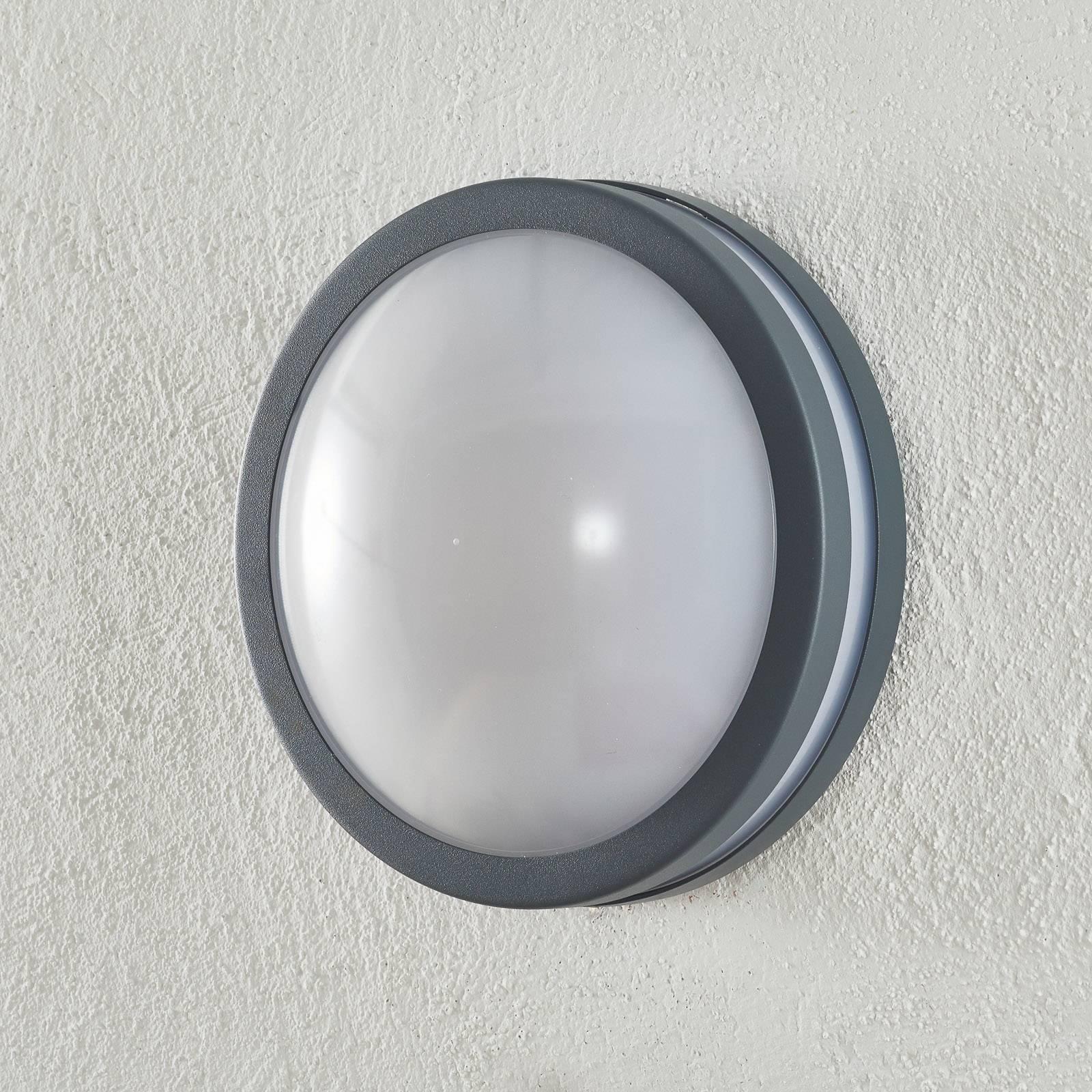 EGLO connect Locana-C LED buitenwandlamp antraciet