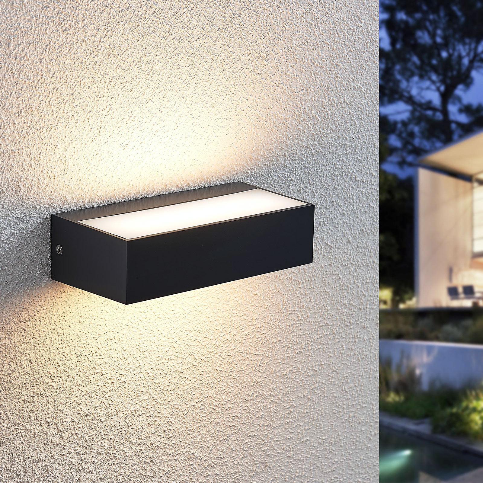 LED-Außenwandleuchte Nienke, IP65, 17 cm