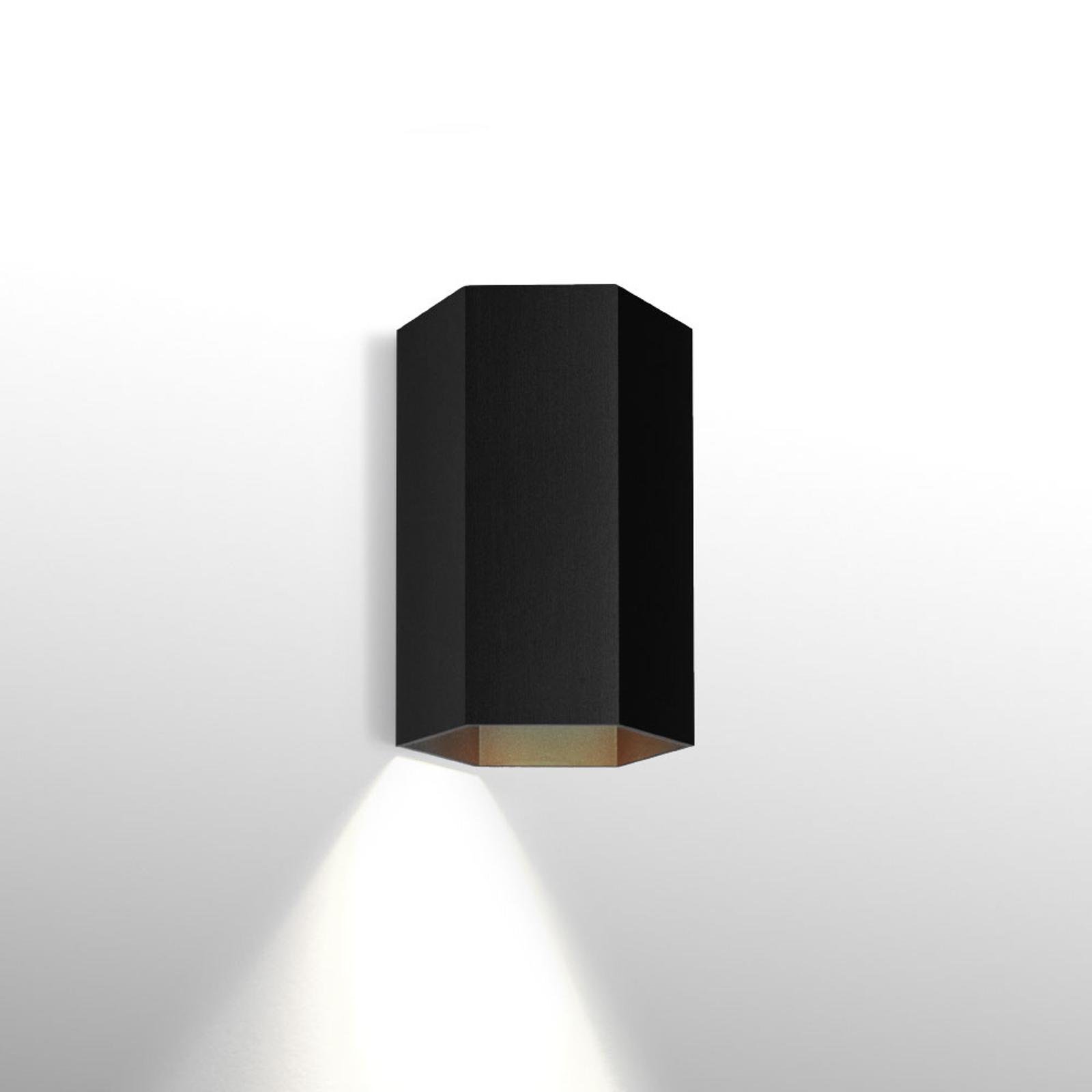 WEVER & DUCRÉ Hexo mini 1.0 wandlamp 11,5 zwart