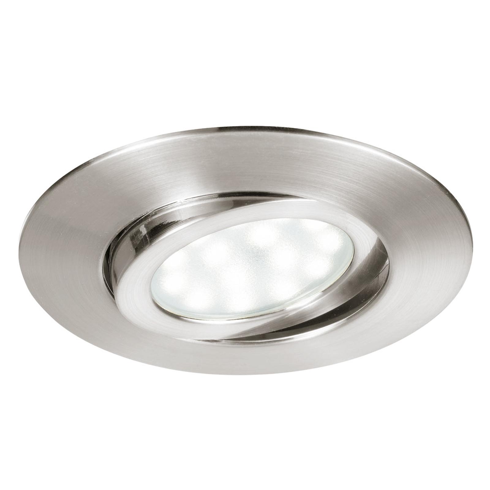 Acquista Zenit - spot LED da incasso nichel