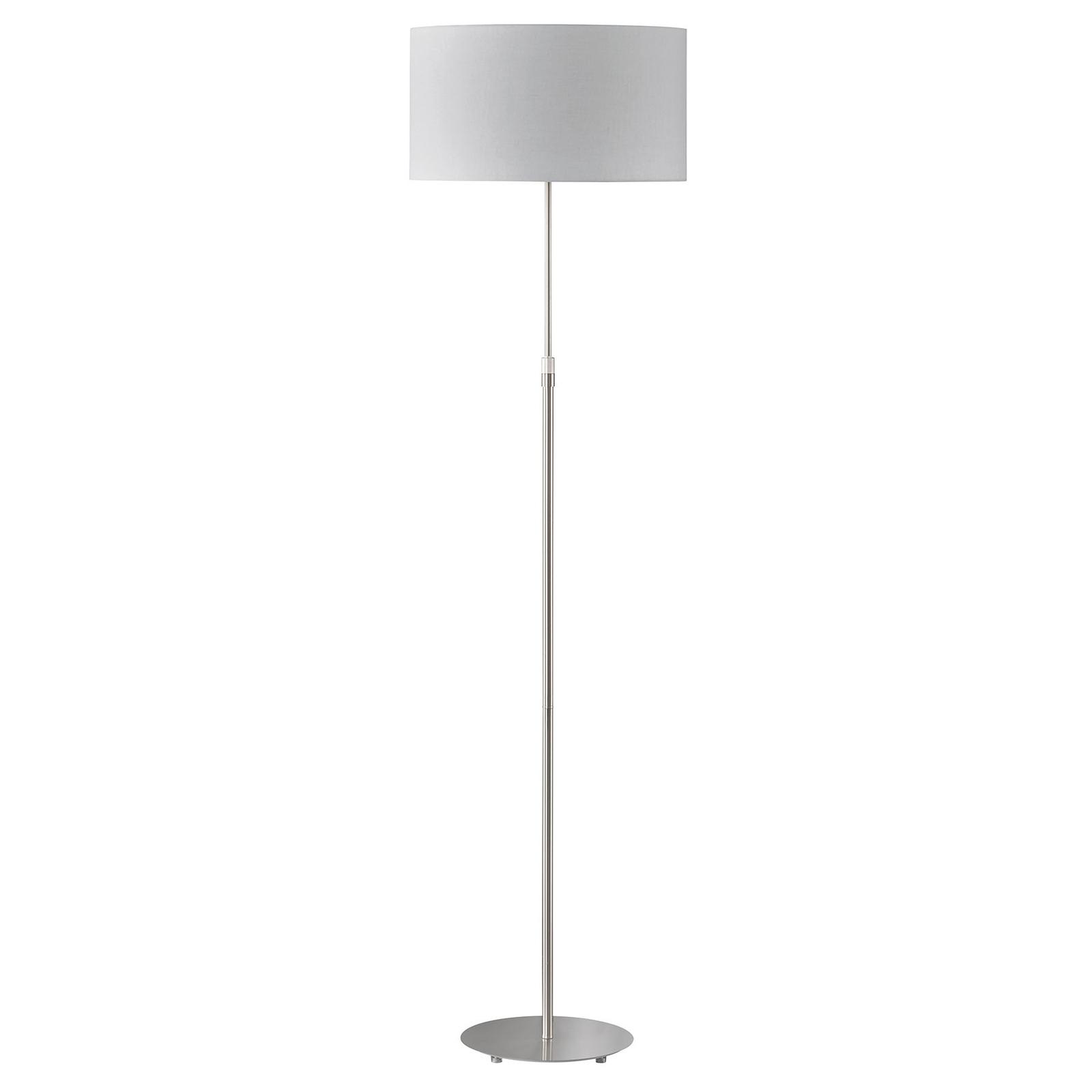 Schöner Wohnen Pina gulvlampe, lysegrå
