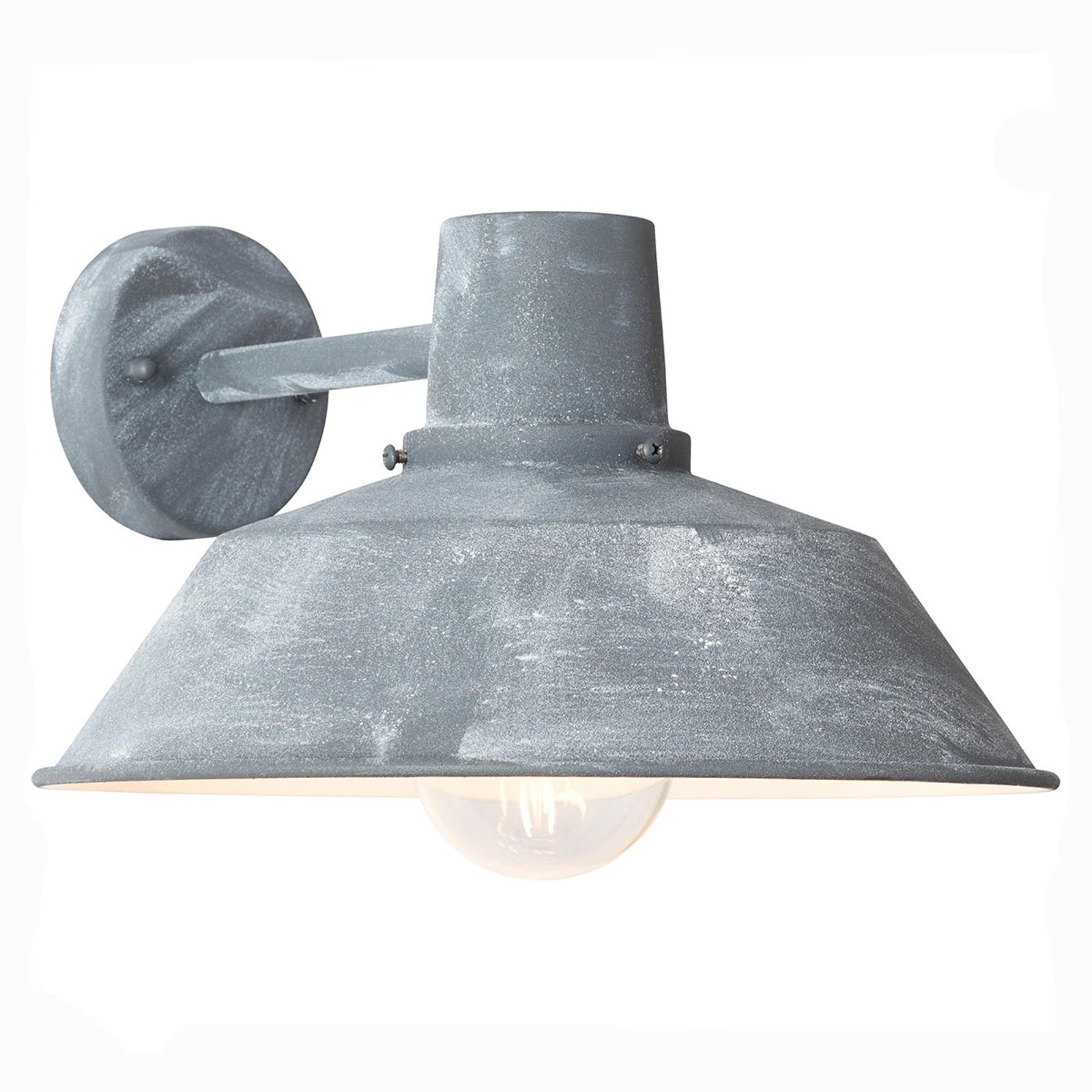 Buitenwandlamp Humphrey, grijs beton