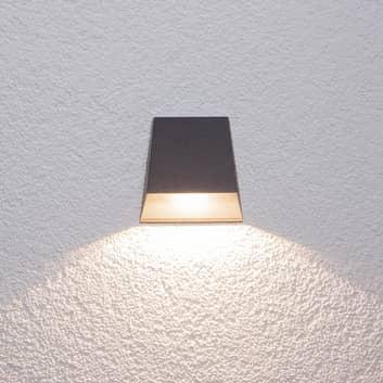 Bredt strålende udendørs væglampe Hanno med LED