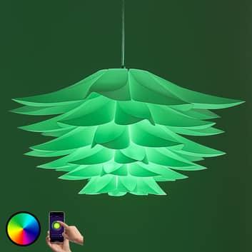 Lindby Smart hængelampe Lavinja m. RGB-LED-pære