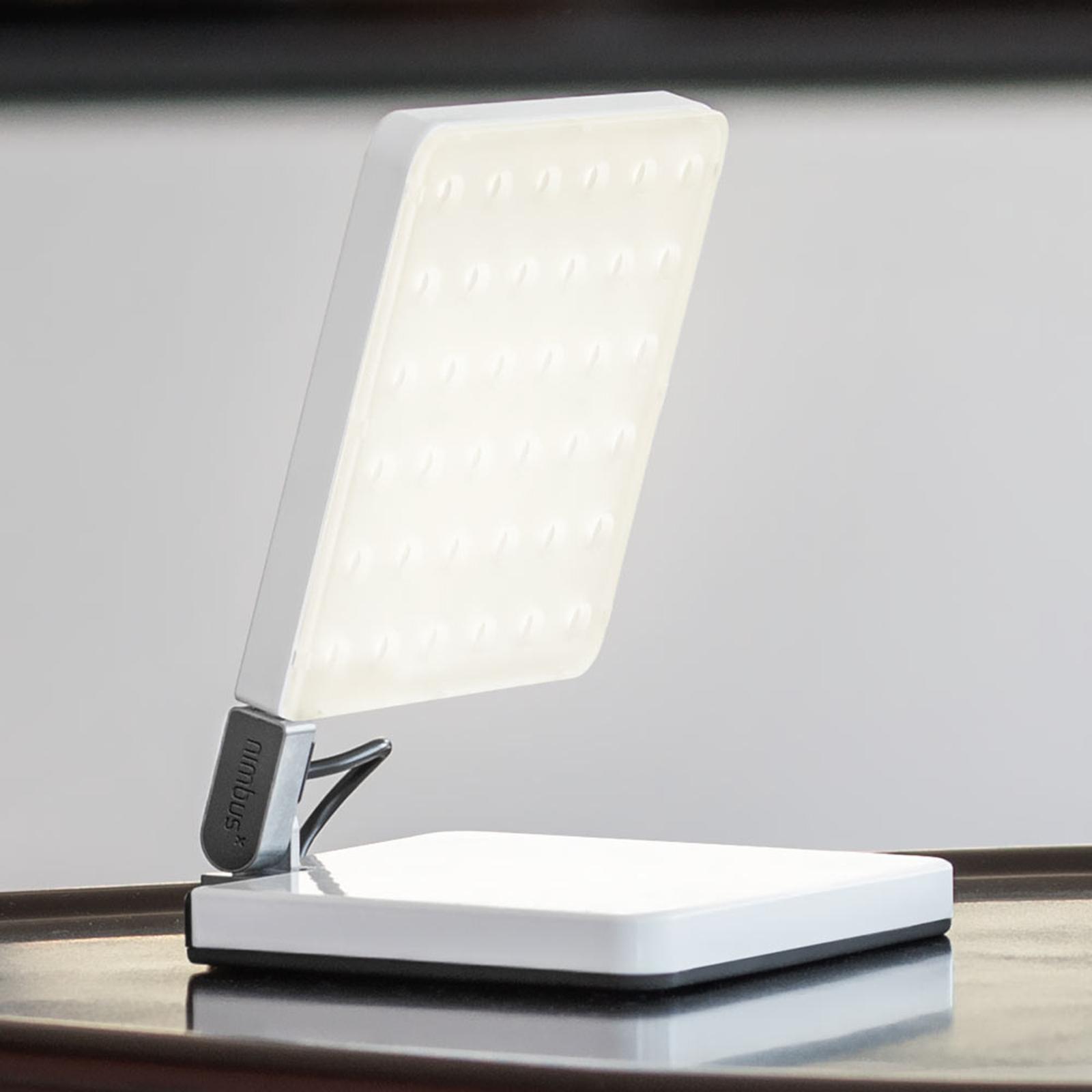 Nimbus Roxxane Fly LED-bordslampa, vit