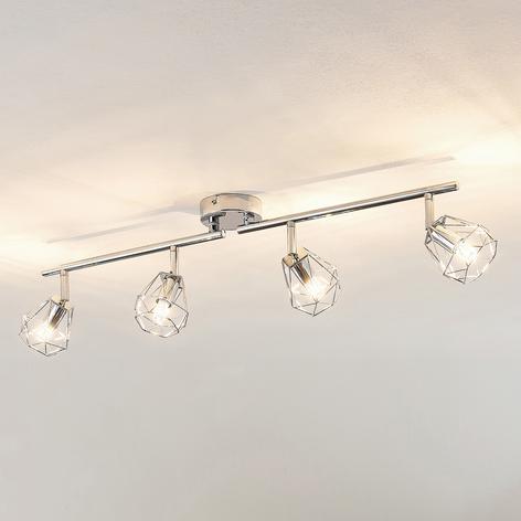 Lindby Giada LED -kattovalaisin, nelilamppuinen